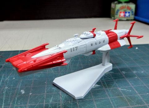 メカコレクション ユキカゼ 宇宙戦艦ヤマト2199 サンプル製作レビュー バンダイ