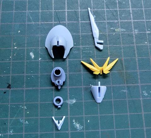 HG 1/144 ミスサザビー プラモデル サンプル製作レビュー タギミ
