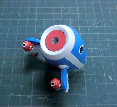 チョッパーロボ3号 チョッパーサブマリン プラモデル サンプル製作レビュー タギミ