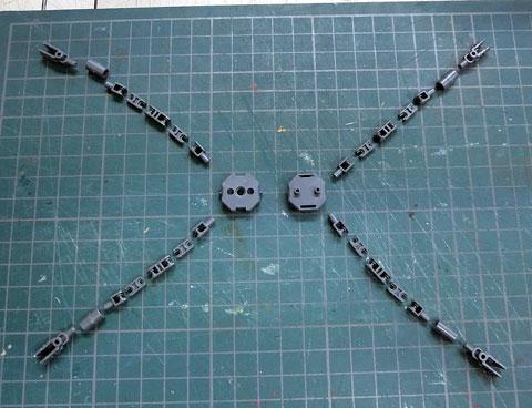 HGBC 1/144 スカルウェポン サンプル製作レビュー プラモデル タギミ
