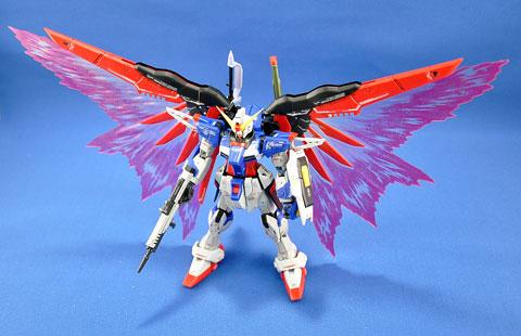 No.15 ディスティニーガンダムRG +光の翼 第12回キャラクタープラモデルコンテスト タギミ