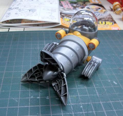 チョッパーロボ4号 チョッパードリル サンプル製作レビュー タギミ