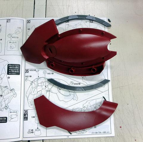 HGUC 1/144 ネオ・ジオング プラモデル サンプル製作レビュー タギミ