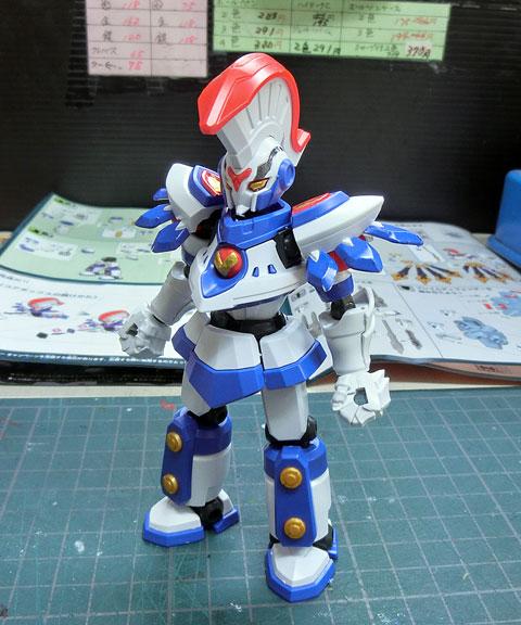 LBX アキレスII プラモデル サンプル製作レビュー タギミ