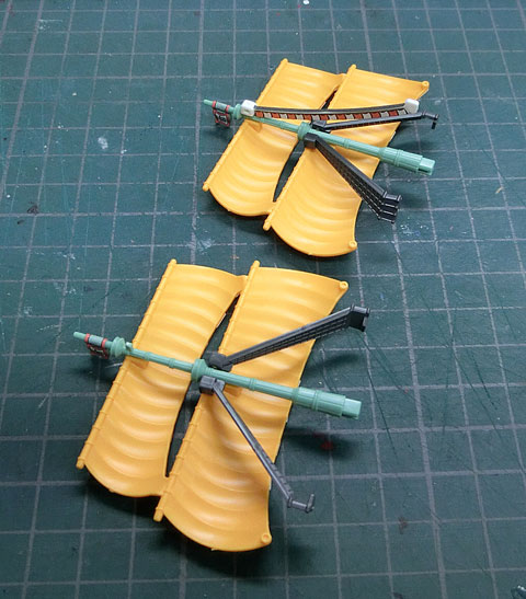 グランドシップコレクション バラティエ プラモデル サンプル製作レビュー タギミ