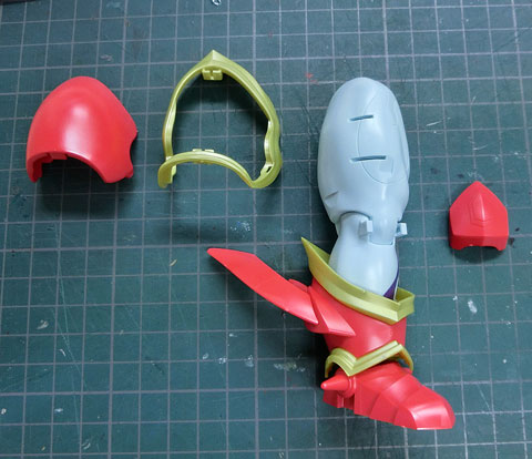 火の魔神 プラモデル サンプル製作レビュー タギミ