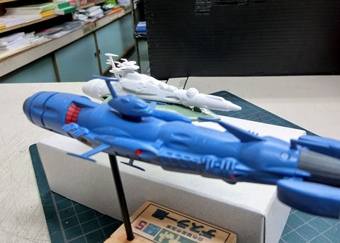 メカコレクション ククルカン級 プラモデル サンプル製作レビュー タギミ