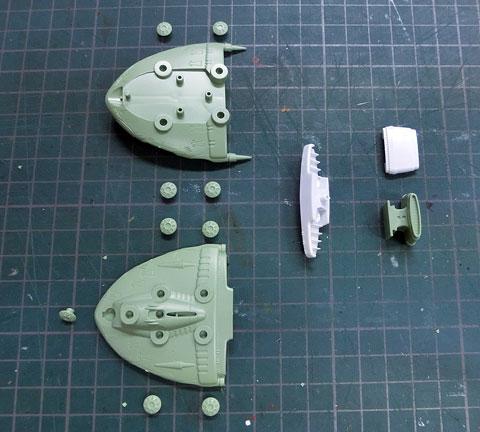 メカコレクション ラスコー級 プラモデル サンプル製作レビュー タギミ
