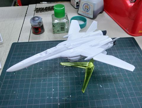 1/100 VF-25F メサイアバルキリー ファイターモード ランカマーキングVer.  ドキッ!模型だらけの水泳大会2014 タギミ