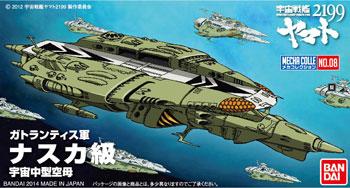 メカコレクション ナスカ級 プラモデル 宇宙戦艦ヤマト2199 バンダイ