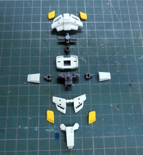 HG 1/144 ガンダム G-セルフ 大気圏用パック装備型 プラモデル サンプル製作レビュー タギミ