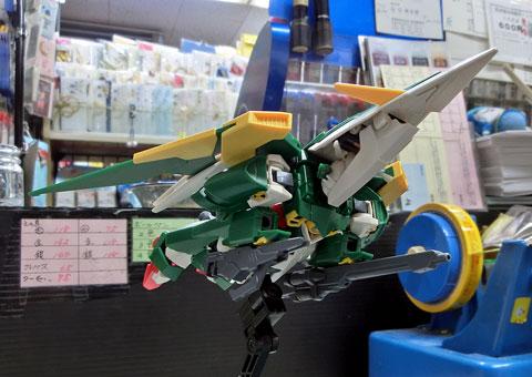 HG 1/144 ガンダムフェニーチェリナーシタ プラモデル サンプル製作レビュー タギミ