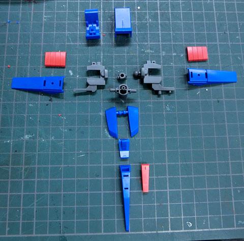 HGUC 1/144 ZII プラモデル サンプル製作レビュー タギミ