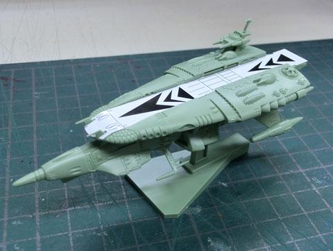 メカコレクション ナスカ級 プラモデル サンプル製作レビュー タギミ