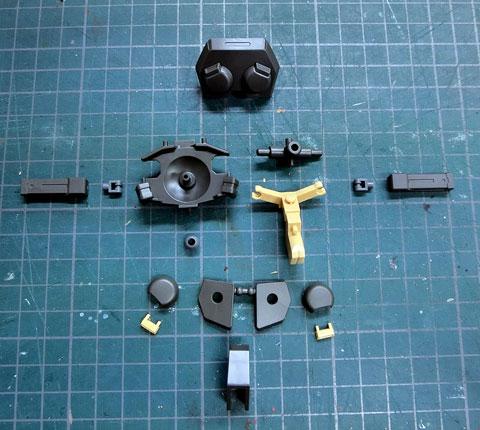 HG 1/144 グリモア プラモデル サンプル製作レビュー  タギミ
