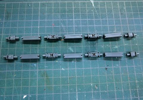 HG 1/144 パワードジムカーディガン プラモデル サンプル製作レビュー タギミ
