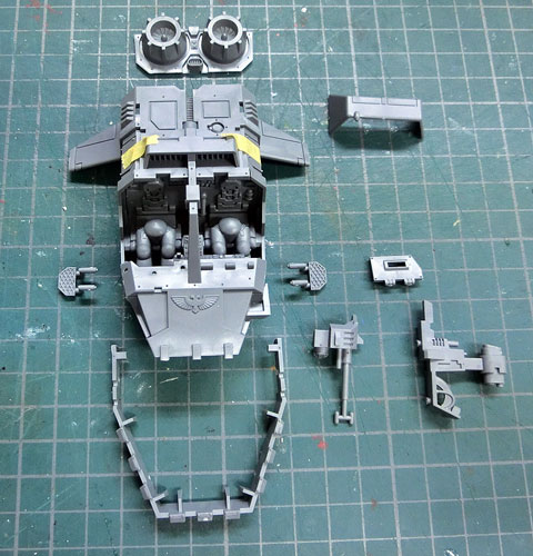 スペースマーリン ランドスピーダー プラモデル WARHAMMER40,000 SpaceMarine LandSpeeder