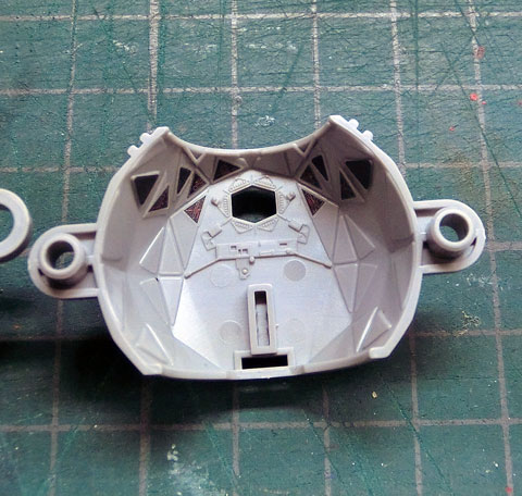 1/72 タイ アドバンス x1 プラモデル サンプル製作レビュー タギミ