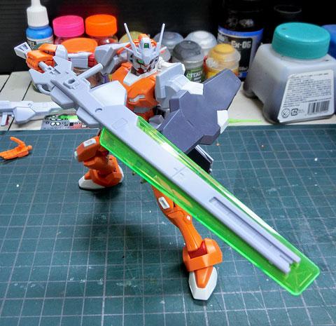 HG 1/144 ガンダム G-アルケイン プラモデル サンプル製作レビュー バンダイ