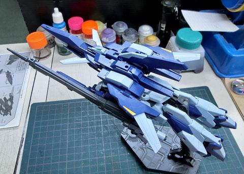 HG 1/144 ライトニングガンダム プラモデル サンプル製作レビュー タギミ