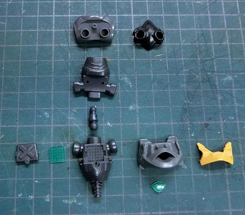 LBX シャドールシファー プラモデル サンプル製作レビュー タギミ