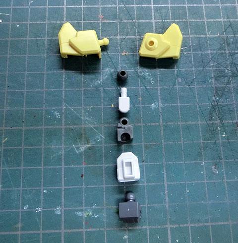 SDBF ウイニングガンダム プラモデル サンプル製作レビュー タギミ