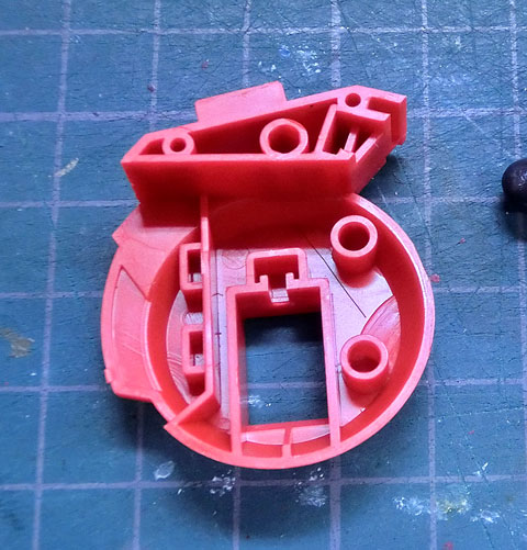 S.R.D-S アルトアイゼン・リーゼ 初回限定仕様 プラモデル サンプル製作レビュー タギミ