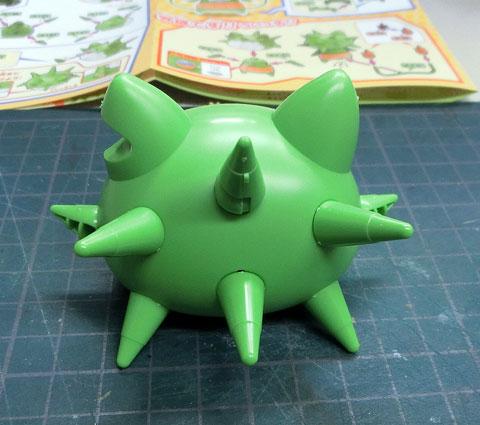 トゲニャン 妖怪ウォッチ プラモデル サンプル製作レビュー タギミ