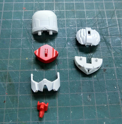 LEGEND BB 397 武者飛駆鳥 ムシャ ビクトリー プラモデル サンプル製作レビュー タギミ