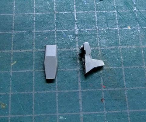 1/100 SX-25 カトラス プラモデル サンプル製作レビュー タギミ
