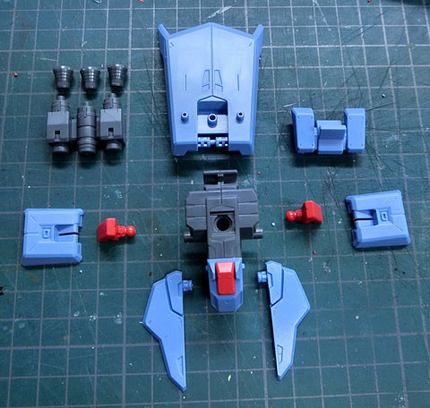 RE/100 1/100 ガンダムMk-III プラモデル サンプル製作レビュー タギミ