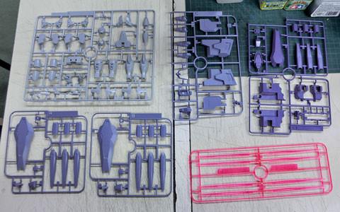 HG 1/144 ジャイオーン プラモデル サンプル製作レビュー タギミ