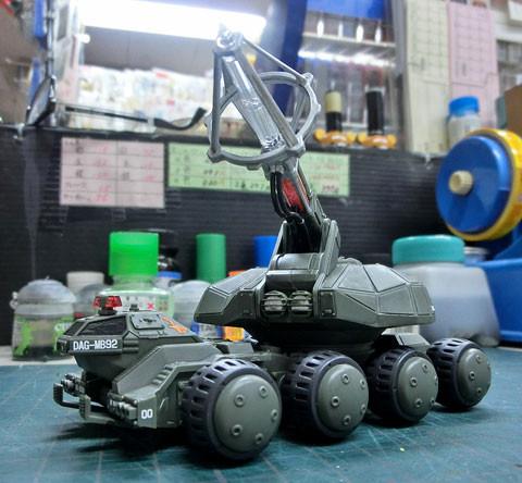 1/144 92式メーサービーム戦車 プラモデル サンプル製作レビュー タギミ