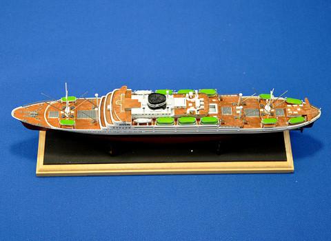 No.02 あるぜんちな丸 第6回 艦船プラモデルコンテスト タギミ
