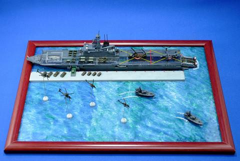 No.04 きょ~しゅ~よ~りくかん しもきた 第6回艦船プラモデルコンテスト タギミ