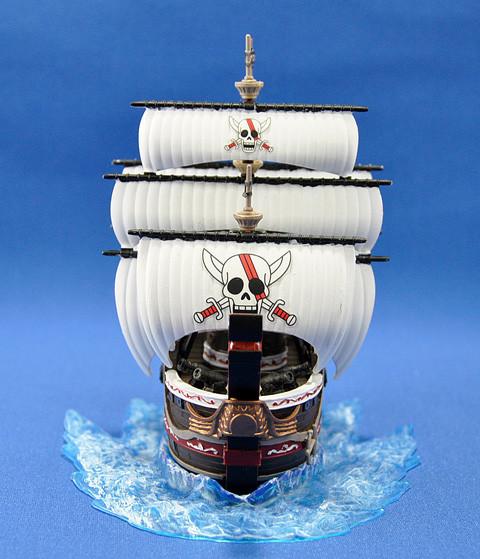 No.10 ワンピース レッドフォース号 第6回艦船プラモデルコンテスト タギミ