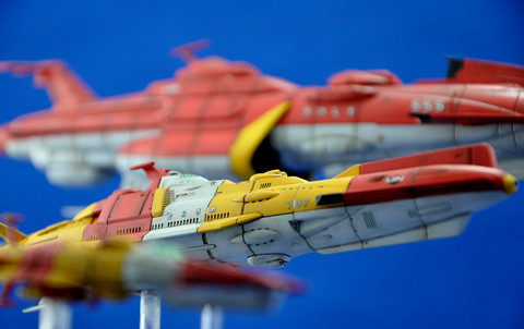 No.11 連合宇宙艦隊 第6回艦船プラモデルコンテスト タギミ