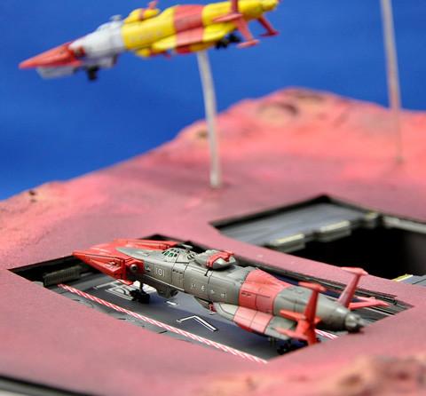 No.13 国連宇宙海軍 連合宇宙艦隊 メ号作戦 第6回艦船プラモデルコンテスト タギミ