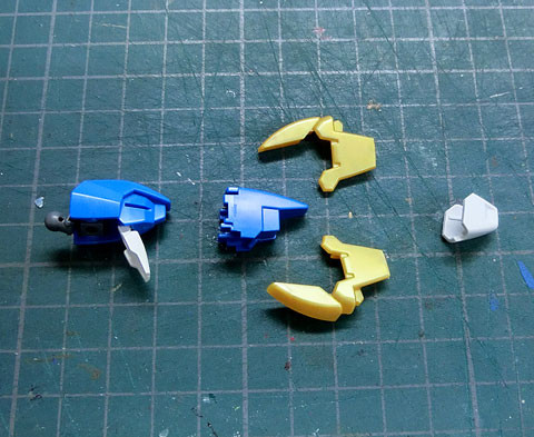 HGUC 1/144 V2アサルトバスターガンダム プラモデル サンプル製作レビュー タギミ