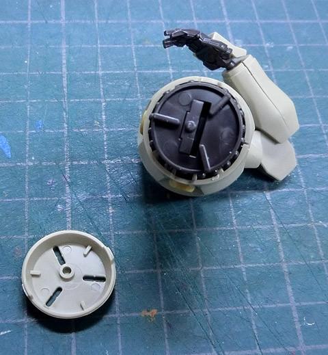 HG 1/144 ジャスティマ プラモデル サンプル製作レビュー タギミ