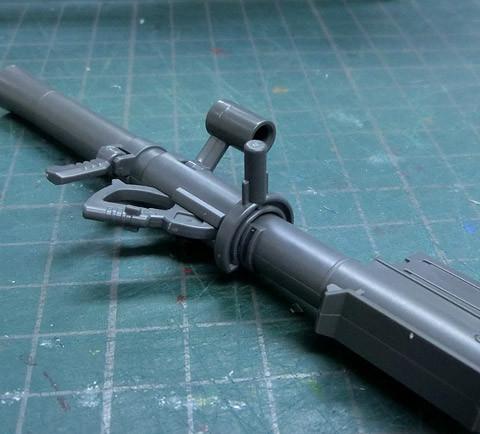 HG 1/144 高機動型ザクII ガイア/マッシュ専用機 プラモデル サンプル製作レビュー タギミ