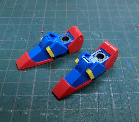 HG  ガンダムトライオン3 プラモデル サンプル製作レビュー タギミ