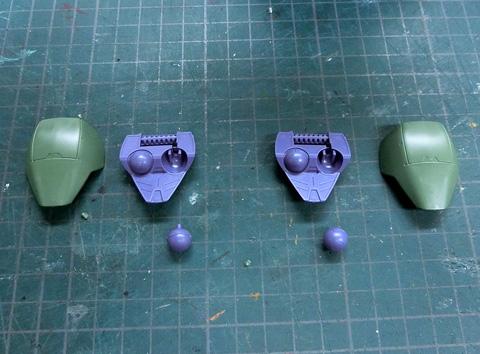 1/100 ガンダムグシオン/ガンダムグシオンリベイク サンプル組み立てレビュー タギミ