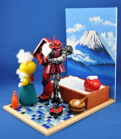 No.20 入浴シーン Take2. 第14回キャラクタープラモデルコンテスト