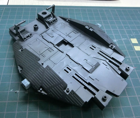 HGUC 1/144 89式ベースジャバー プラモデル 機動戦士ガンダムUC バンダイ