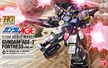 HG 1/144 ガンダムAGE-3 フォートレス プラモデル 機動戦士ガンダムAGE タギミ