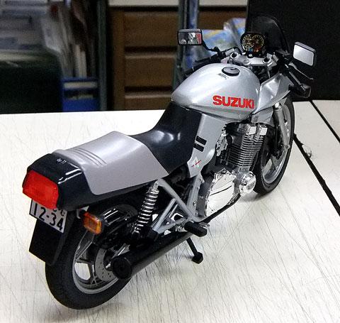 No.2 タミヤ 1/12 スズキ GSX750S カタナ 第1回 バイクプラモデル限定コンペ 極私的プラモデルコンペ