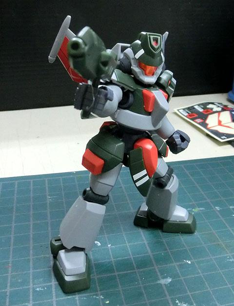 LBX バスター プラモデル サンプル製作レビュー タギミ バンダイ