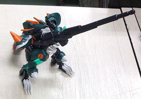 LBX フェンリル ダンボール戦機 プラモデル バンダイ
