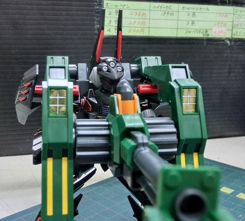 LBX グルゼオン サンプル製作レビュー プラモデル ダンボール戦機WARS タギミ
